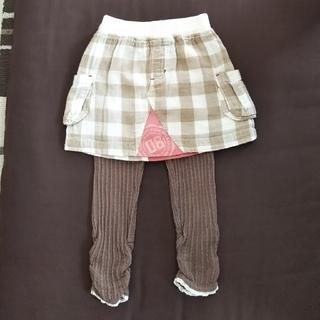 ビケット(Biquette)のビケット スパッツ スカート 90(スカート)