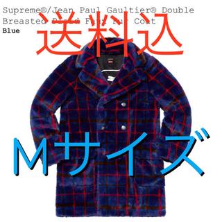 シュプリーム(Supreme)のsupreme gaultier ファーコート 青 M(その他)