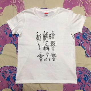 バルコニーアンドベット(Balcony and Bed)のシンプルイラストTシャツ(Tシャツ(半袖/袖なし))