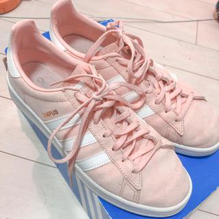 アディダス(adidas)の美品 アディダス キャンパス campus ピンク(スニーカー)