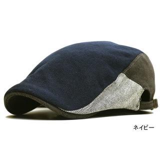 帽子 大きめサイズ xl ハンチングビッグトロワークルール ネイビー(ハンチング/ベレー帽)
