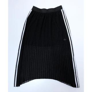 アディダス(adidas)の極美品 アディダスオリジナルス シフォンレース ロングスカート レディースJ/L(ロングスカート)
