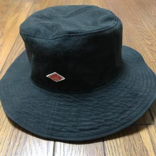 ダントン(DANTON)のダントン ブラック ハット 帽子(ハット)