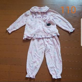 シマムラ(しまむら)のパジャマ 110 猫 ハート(パジャマ)