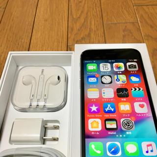 アップル(Apple)のiPhone 6s 64GB Space Gray au(スマートフォン本体)