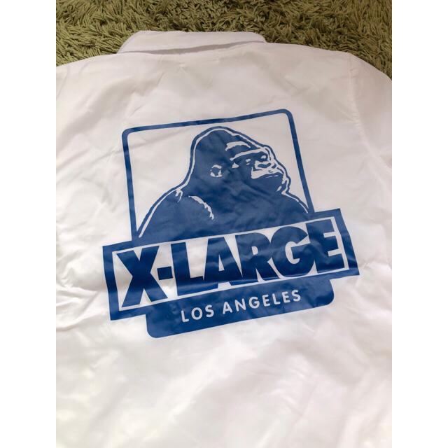 XLARGE(エクストララージ)のXLARGE コーチジャケット メンズのジャケット/アウター(ナイロンジャケット)の商品写真