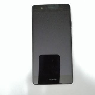 (中古)HUAWEI P9 lite VNS-L22 ブラック(スマートフォン本体)