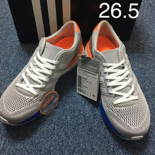 adidas - 【新品未使用】adiZERO boston BOOST 2 wide  26.5