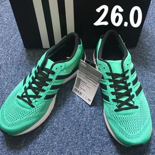 adidas - adiZERO boston BOOST 2  26.0 【新品未使用】