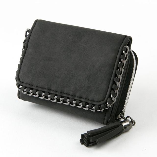 d2aac991e235 ミニ財布 メタルチェーン ブラック の通販 by iPhoneケース専門店's shop ...