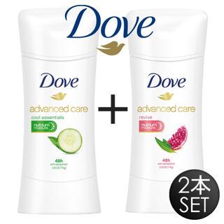 【新品】Dove ダヴ 制汗剤 ◇ デオドラント2個セット!(制汗/デオドラント剤)