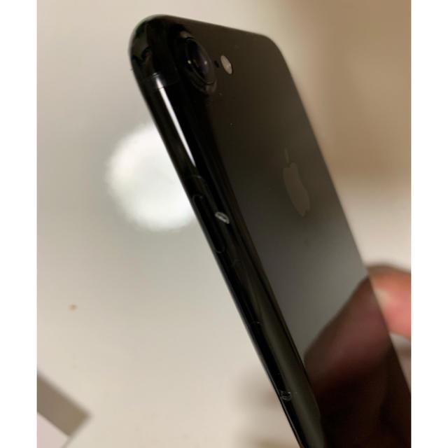 iPhone(アイフォーン)のiPhone7 SIMフリー 128G ジェットブラック ※値引き交渉OK! スマホ/家電/カメラのスマートフォン/携帯電話(スマートフォン本体)の商品写真