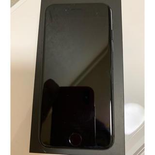 アイフォーン(iPhone)のiPhone7 SIMフリー 128G ジェットブラック ※値下交渉OK!(スマートフォン本体)