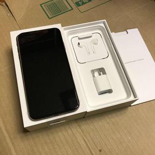 アイフォーン(iPhone)のiPhoneXs Max 512GB ドコモ版simフリー 新品 利用制限○(スマートフォン本体)