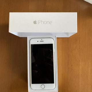 アイフォーン(iPhone)のiPhone6 16GB シルバー 手帳型ケースセット(スマートフォン本体)