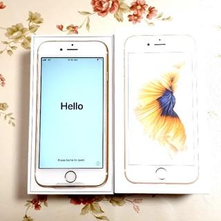 アップル(Apple)の【新品未使用】iPhone6s 32GB Gold 利用制限判定〇 SIMフリー(スマートフォン本体)