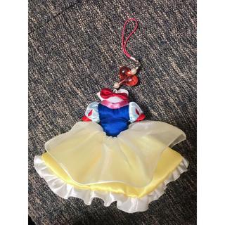 ディズニー(Disney)の白雪姫 ストラップ スマホクリーナー(ストラップ/イヤホンジャック)