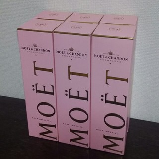 モエエシャンドン(MOËT & CHANDON)の[かりんとう☆様専用]モエシャンドン×6本(シャンパン/スパークリングワイン)