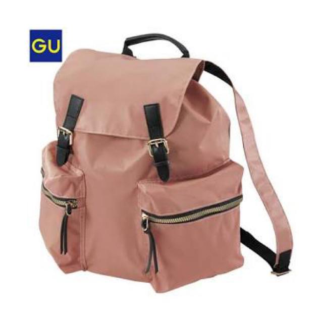 GU(ジーユー)のリュック レディースのバッグ(リュック/バックパック)の商品写真