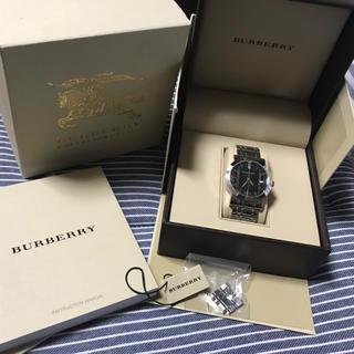 バーバリー(BURBERRY)のBurberry 腕時計 値下げしました!(金属ベルト)