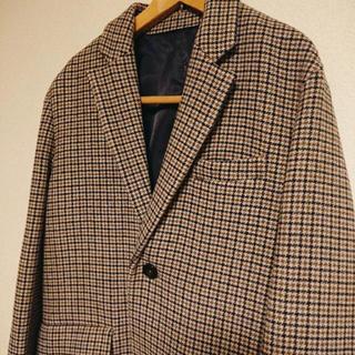 ラフシモンズ(RAF SIMONS)のガンクラブチェックオーバーコート 17AW 極美品(チェスターコート)