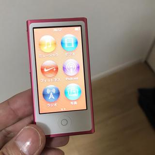 アップル(Apple)のipod nano アイポッドナノ 16GB(ポータブルプレーヤー)