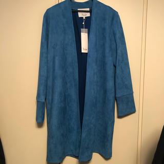 ルシェルブルー(LE CIEL BLEU)のパリンカ アウター スエード 新品未使用 ジャケット obli(スプリングコート)