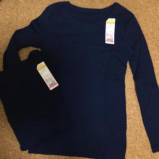 シマムラ(しまむら)の長袖インナー2枚セット(アンダーシャツ/防寒インナー)