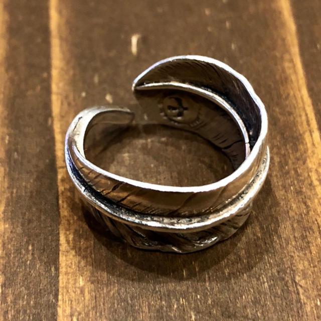 goro's(ゴローズ)のゴローズ  フェザーリング メンズのアクセサリー(リング(指輪))の商品写真
