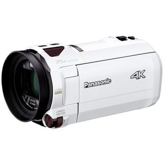 パナソニック(Panasonic)の新品☆Panasonic HC-VX990M デジタル4Kビデオカメラ ホワイト(ビデオカメラ)
