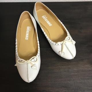 クラークス(Clarks)のクラークス  ペタンコ パンプス(ローファー/革靴)