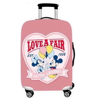 ディズニー(Disney)のSALE スーツケースカバー ミッキー♡ミニー S (スーツケース/キャリーバッグ)