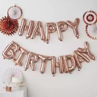 誕生日 飾り happy birthday バルーン(モビール)