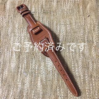 ゲンテン(genten)の〔OKNUJ様用〕genten 時計ベルト(レザーベルト)