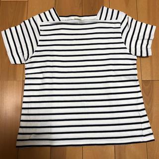 ジーユー(GU)のボーダー Tシャツ 150(Tシャツ/カットソー)