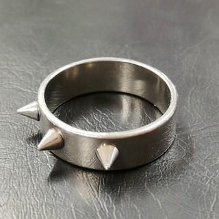 トゲトゲ リング 指輪 ステンレス(リング(指輪))