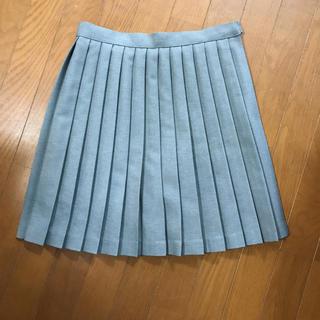 セシール(cecile)の制服スカート グレー W64(ミニスカート)
