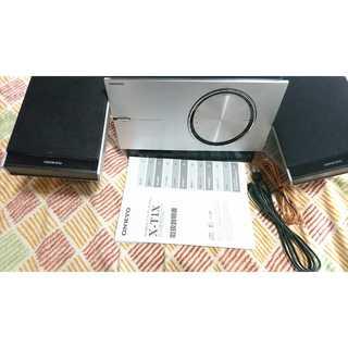 ONKYO CD/MD チューナーアンプシステム X-T1X(アンプ)