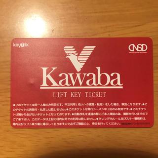 川場 スキー場 リフト券 4/30まで使用可能 即日発送 受付での交換不要 新品(スキー場)