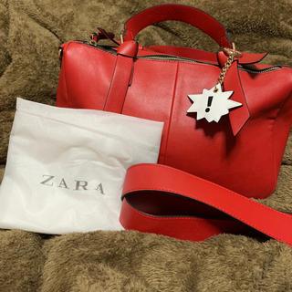 ザラ(ZARA)の(新品)ZARA ボストンバッグ(ボストンバッグ)