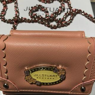 ジルスチュアートニューヨーク(JILLSTUART NEWYORK)のジルスチュアート ニューヨーク キッズ 三つ折り財布 ピンク(財布)