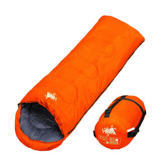 WhiteSeek 寝袋 シュラフ 封筒型 コンパクト収納タイプ最低使用温度5℃(寝袋/寝具)