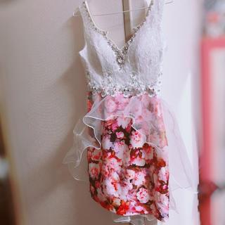 デイジーストア(dazzy store)の激盛れパット付きキャバドレス  (ナイトドレス)