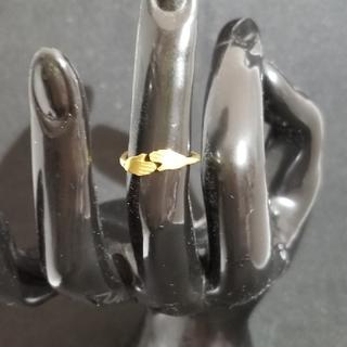 包み込むリング ゴールドメッキ(リング(指輪))