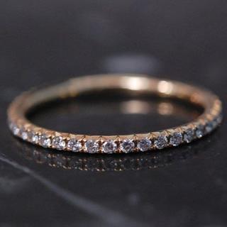 ティファニー(Tiffany & Co.)のTIFFANY&Co. ティファニー リング フル ダイヤモンド K18 YG (リング(指輪))