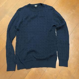 ユニクロ(UNIQLO)のユニクロ カシミヤケーブルクルーネックセーター アーバンリサーチ カットソー(ニット/セーター)