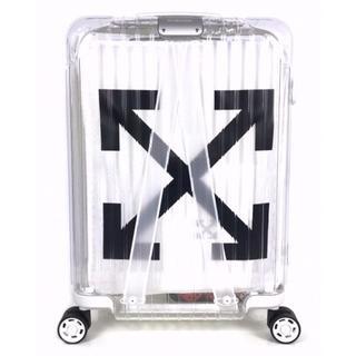 オフホワイト(OFF-WHITE)のRIMOWA off white 白 リモワ オフホワイト スーツケース(その他)