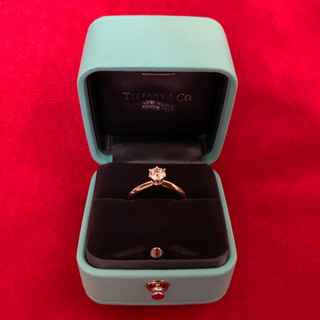 ティファニー(Tiffany & Co.)の【Minoruさん専用】TIFFANY&Co ダイヤリング 18KYG(リング(指輪))