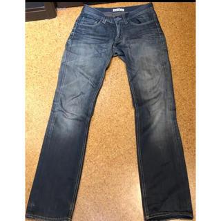 アクネスラボ(Acnes Labo)の即購入OK!Acne jeans ストレートデニムパンツ アクネジーンズボトムス(デニム/ジーンズ)