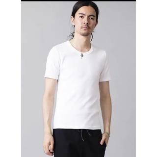 ノーアイディー(NO ID.)の即購入OK!NO ID.ノーアイディー 定番フライス半袖カットソー/白Tシャツ(Tシャツ/カットソー(半袖/袖なし))
